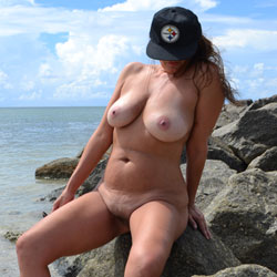 Beach Fun - Beach, Big Tits