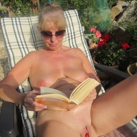 Ripe Strawberry - Big Tits, Blonde, Outdoors, Shaved