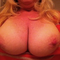 My large tits - BlondeWife