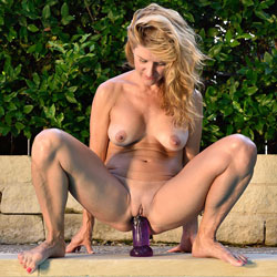 Blonde Girl Riding A Big Dildo - Big Tits, Blonde Hair, Erect Nipples, Exposed In Public, Firm Tits, Full Nude, Masturbation, Naked Outdoors, Nipples, Nude Outdoors, Perfect Tits, Pussy Lips, Shaved Pussy, Showing Tits, Spread Legs, Hairless Pussy, Hot Girl, Naked Girl, Sexy Ass, Sexy Body, Sexy Boobs, Sexy Face, Sexy Feet, Sexy Girl, Sexy Legs, Sexy Woman, Toys, Penetration Or Hardcore, Young Woman