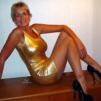Kathy's First Set on VW - High Heels Amateurs, Blonde, Mature
