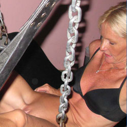 Luv The Feeling Of Leather Chains And Smacking