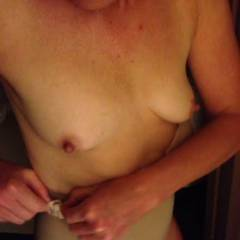 Small tits of my wife - kira