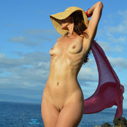Naked Feeling The Wind - Brunette Hair, Exposed In Public, Full Nude, Natural Tits, Nipples, Nude In Nature, Showing Tits, Small Breasts, Small Tits, Trimmed Pussy, Sexy Body, Sexy Feet, Sexy Figure, Sexy Girl, Sexy Woman