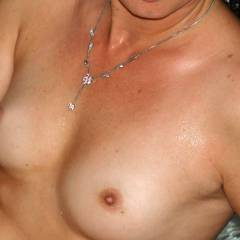 My very small tits - shy cougar