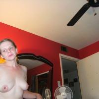Medium tits of a co-worker - Judy