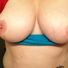 Large tits of my wife - my lady