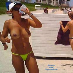 Nude Beach Hottie! - Beach, Big Tits