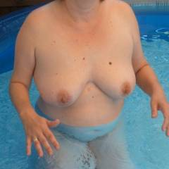Large tits of my wife - Sigrid