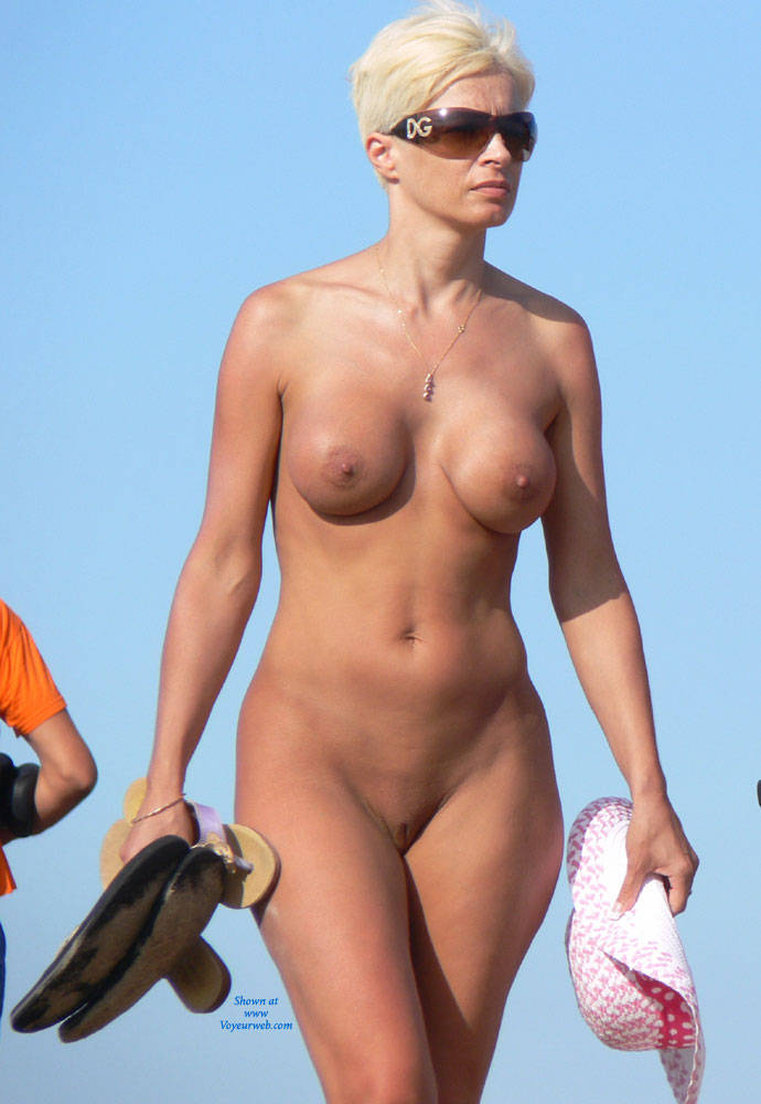 Mature blonde short hair nude all personal