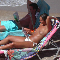 Small Tits At The Beach - Beach, Small Tits