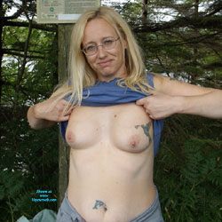 Dartmoor Milf Flashing - Big Tits, Blonde