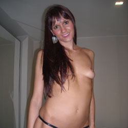 Stripping Nude At Home - Brunette Hair, Milf, Nipples, Showing Tits, Small Breasts, Small Tits, Strip, Sexy Body, Sexy Face, Sexy Figure, Sexy Girl, Sexy Legs, Sexy Panties, Sexy Woman, Dressed, Young Woman