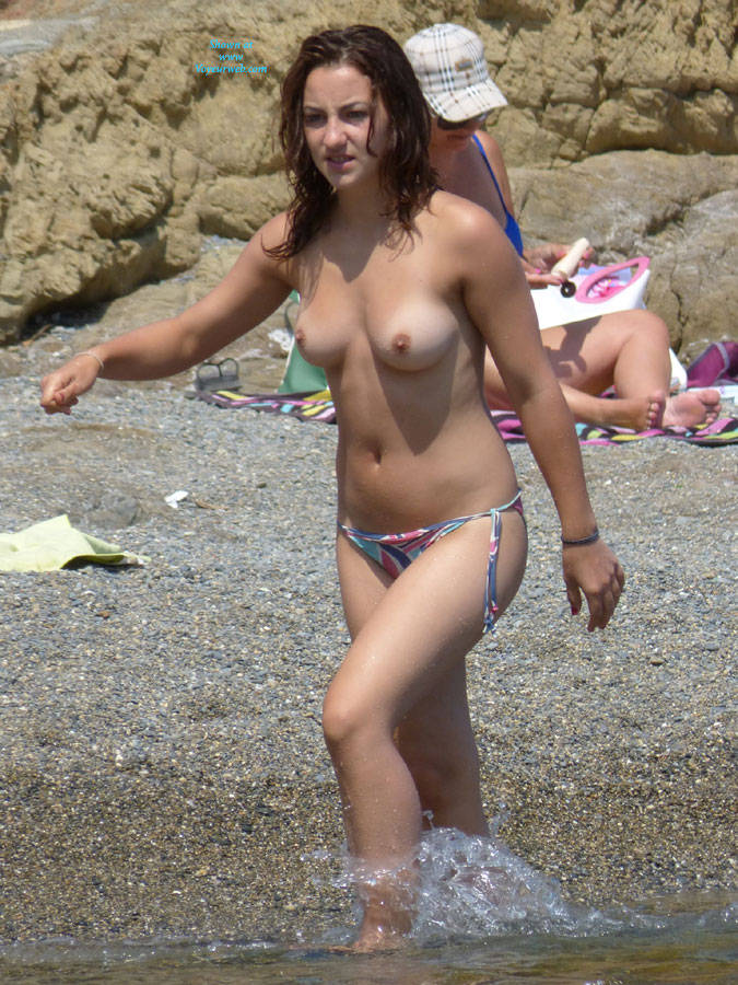 Pic #1 - Various Girls In Spain - Beach Voyeur , Various Girls