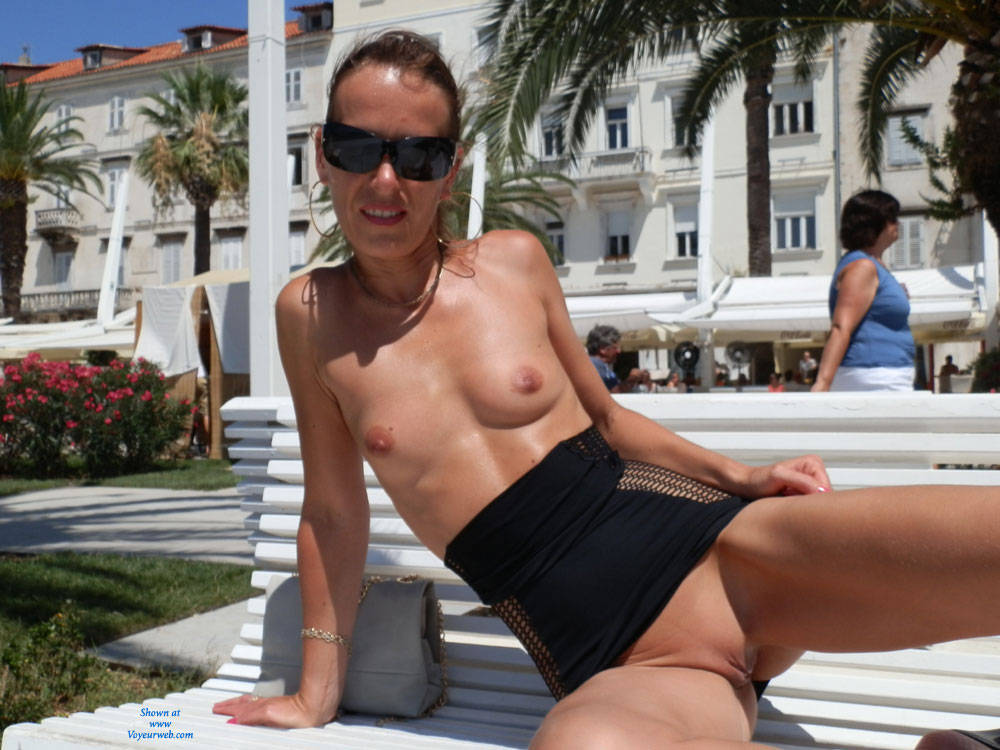 Flashing Nude At The Park - Erect Nipples, Exposed In Public, Firm Tits, Flashing Tits, Flashing, Hard Nipple, Nipples, No Panties, Nude In Public, Nude Outdoors, Shaved Pussy, Showing Tits, Small Breasts, Small Tits, Sunglasses, Hairless Pussy, Pussy Flash, Sexy Body, Sexy Face, Sexy Girl, Sexy Legs, Sexy Woman , Brunette, Nude In Public, Sunglasses, Flashing, Shaved Pussy, Small Tits, Legs