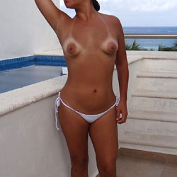 Topless Island Vacations - Big Tits, Bikini, Brunette Hair, Exposed In Public, Firm Tits, Heels, Nude In Public, Nude Outdoors, Showing Tits, Topless Girl, Topless Outdoors, Topless, Hot Girl, Sexy Body, Sexy Boobs, Sexy Figure, Sexy Girl, Sexy Legs, Sexy Woman