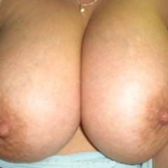 Very large tits of my girlfriend - Rebecca