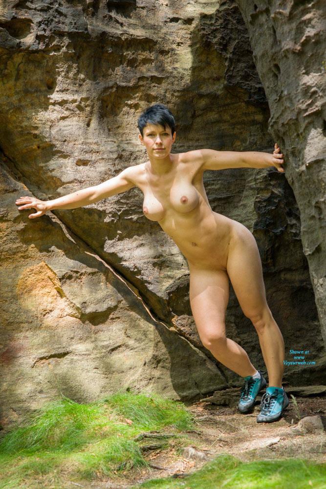 Climbing Nude - August, 2014 - Voyeur Web-1028