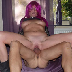 Reverse In Purple - Big Tits, Penetration Or Hardcore, Pussy Fucking