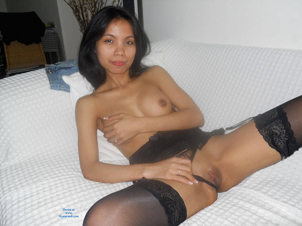 For amateur asian girl spread legs pussy something is