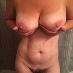 Large tits of my wife - The wife