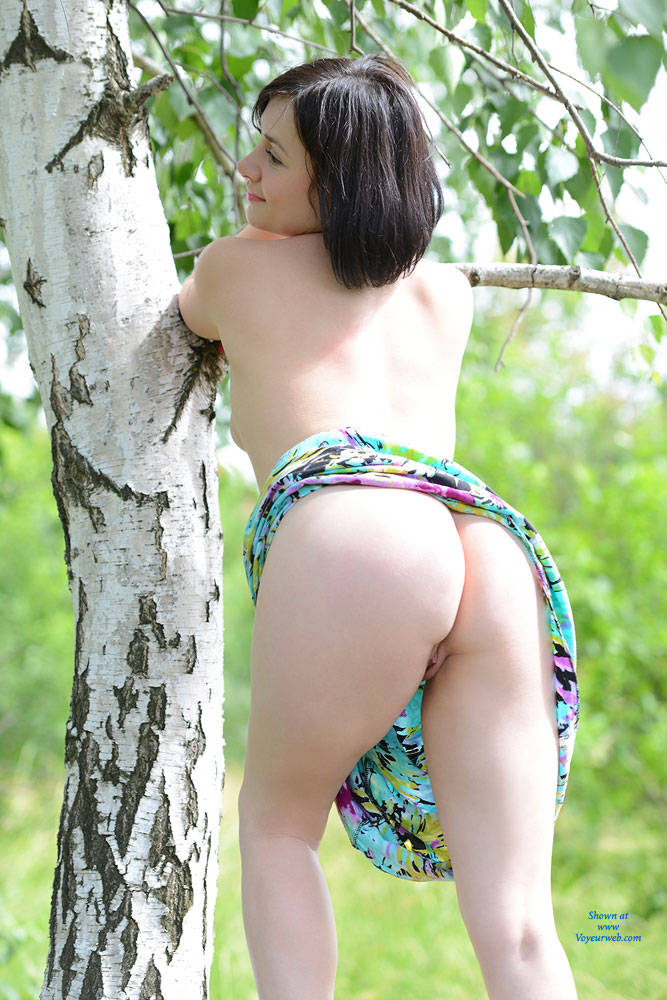 Pic #8 Veronik Outdoors - Big Tits, Nature