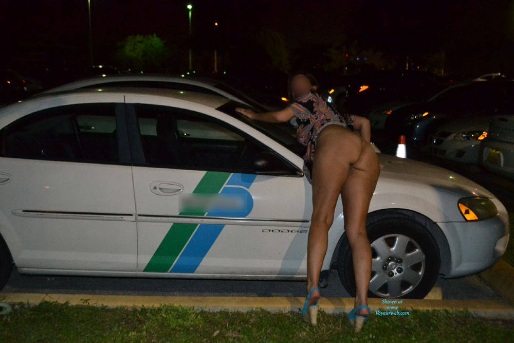 Pic #6 More Flashing Pictures! - Big Tits, Flashing, Public Exhibitionist, Public Place