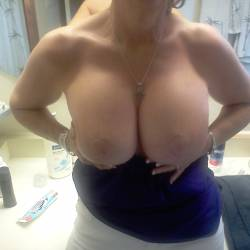 Large tits of a neighbor - Penny