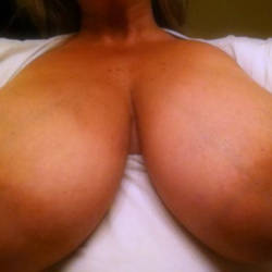 Large tits of my wife - Busty Wife
