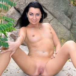 Intercourse With Nature - Big Tits, Brunette Hair, Nude In Public, Shaved