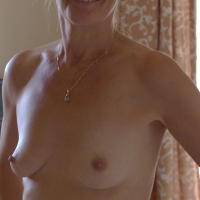 Small tits of my wife - Laure