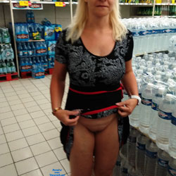 Just For Fun - Big Tits, Flashing, Public Exhibitionist, Public Place