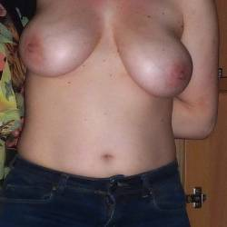 Large tits of my girlfriend - funbags