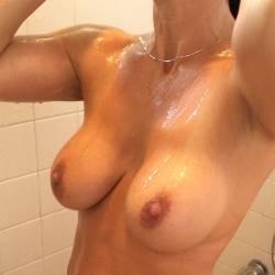 Medium tits of my wife - Cougar