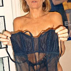 Blonde In Black - Lingerie, Wife/Wives