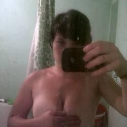 Very small tits of my girlfriend - argentina tetona