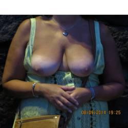 Medium tits of my wife - Sexymoto