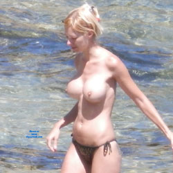 Tempting Topless Blonde At The Baach - Big Tits, Blonde Hair, Erect Nipples, Exposed In Public, Firm Tits, Huge Tits, Nude Beach, Nude In Nature, Nude In Public, Nude Outdoors, Perfect Tits, Showing Tits, Topless Beach, Topless Girl, Topless Outdoors, Topless, Water, Beach Voyeur, Hot Girl, Sexy Body, Sexy Boobs, Sexy Face, Sexy Figure, Sexy Girl, Sexy Legs, Sexy Woman, Young Woman