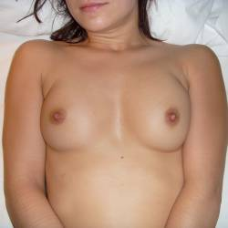 Small tits of my wife - SBM