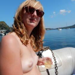 Very small tits of my girlfriend - Aurora