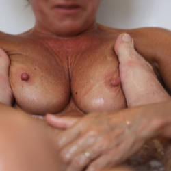 Medium tits of my wife - Miss Saintex