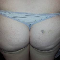 My wife's ass - bbw ZA wife