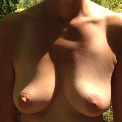 Medium tits of my wife - ctwife