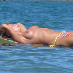Floating Topless On Beach Water - Bikini, Brunette Hair, Exposed In Public, Firm Tits, Hard Nipple, Nipples, Nude In Nature, Perfect Tits, Showing Tits, Topless Beach, Topless Girl, Topless Outdoors, Topless, Beach Voyeur, Hot Girl, Sexy Body, Sexy Boobs, Sexy Face, Sexy Figure, Sexy Girl, Sexy Legs, Sexy Woman, Young Woman