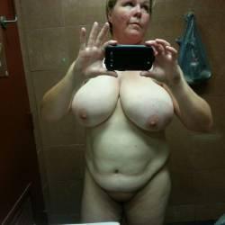Very large tits of my girlfriend - Jennifer