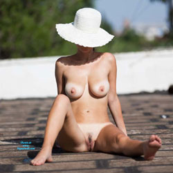 The First On The Roof! - Big Tits, Sexy Ass