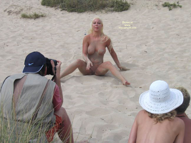 Pic #1 - Nude Pose On The Sand - Big Tits, Blonde Hair, Huge Tits, Long Hair, Shaved Pussy, Spread Legs, Naked Girl, Nude Amateur , Girl In Sand Box, Feet Showing, Sitting On A Beach, Playing To The Crowd, Blonde With Big Tits, Big Tits Blonde, Beach Nude