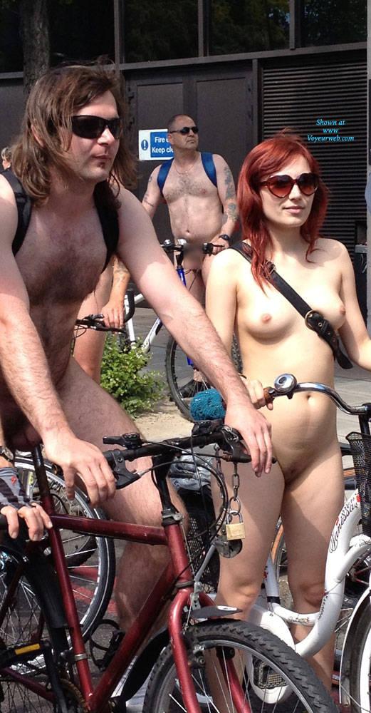Nude red bone woman