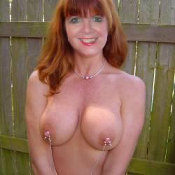 Large tits of my wife - Marlene