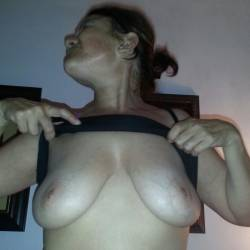 Large tits of a neighbor - cattie
